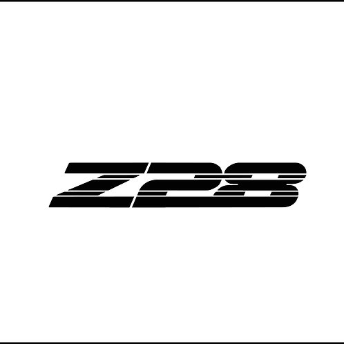 Z28 Decal