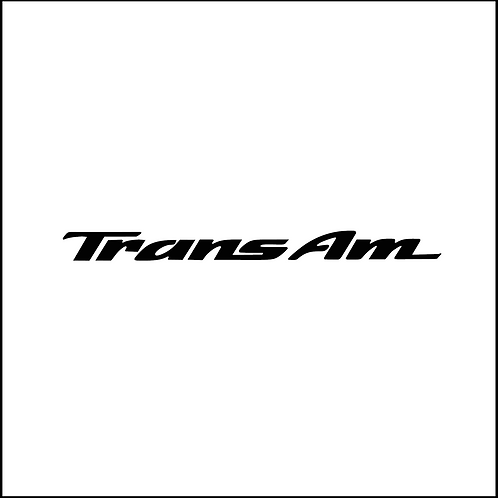 Trans-Am Decal
