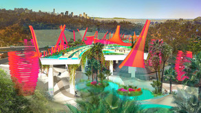 Chris Reed reimagines Los Angeles freeway as vibrant, eco-smart park