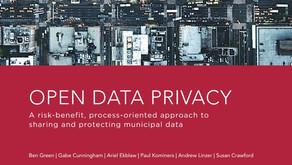 Berkman-Klein Center Publishes Open Data Privacy Handbook for Cities