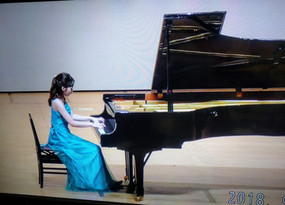 Maple音楽教室 夏の演奏会にて