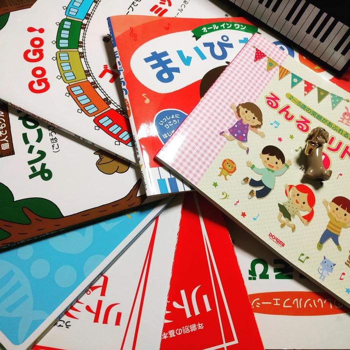 メープル音楽教室プレピアノコースの教材(ソルフェージュ、リトミック)