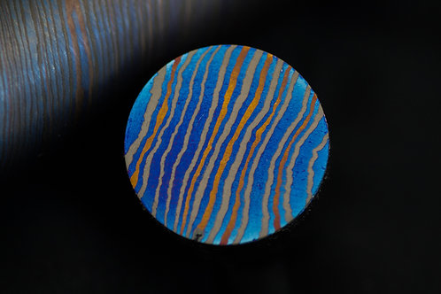 #Blackfuturon rod, 3alloys, Twist pat. - dia.25 x 385 mm