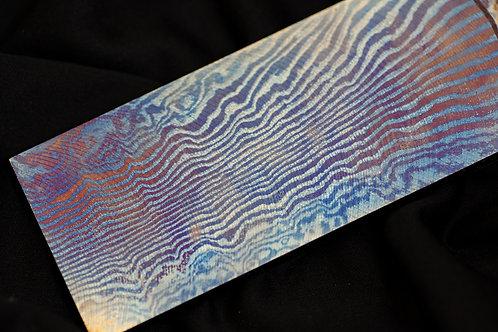 #Futuron, 2alloys, Lines pat. - 4,5 x 50 x 115 mm