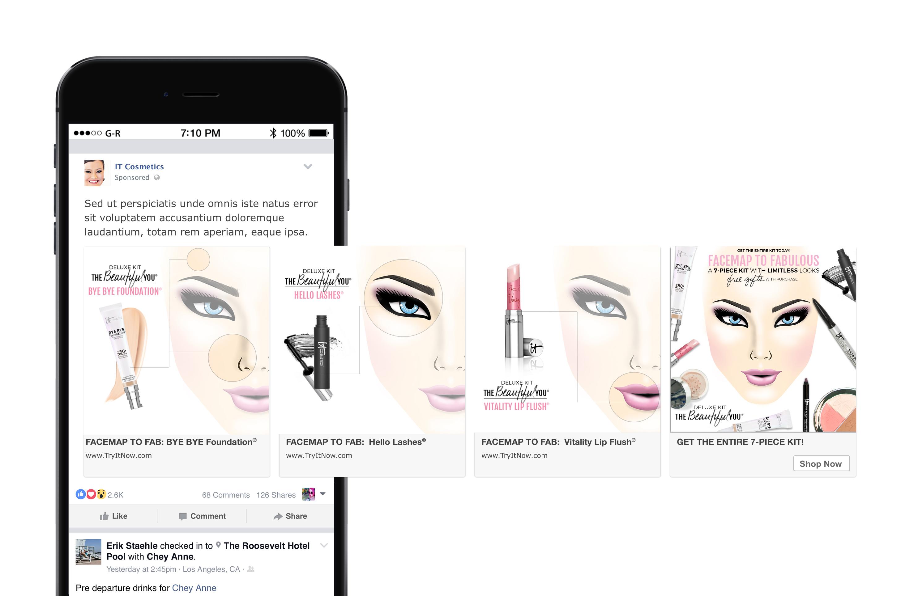 IT Cosmetics Facemap Carousel