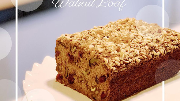 Brian Anthony Bakes A Cranberry-Banana Winter Walnut Loaf