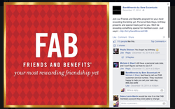 Friends and Benefits Sale - Social
