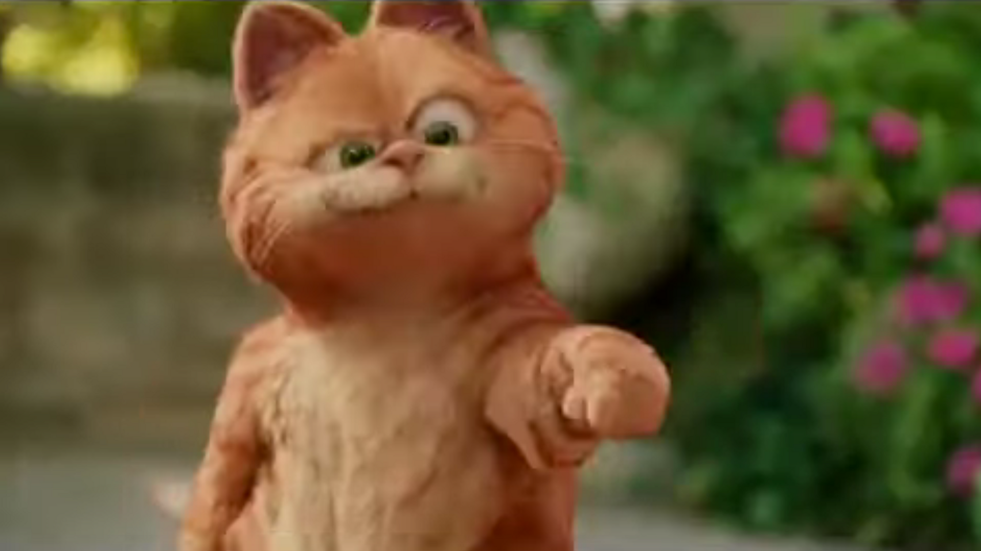 """""""Come And Get It"""" Garfield 2 A Tail of Two Kitties"""