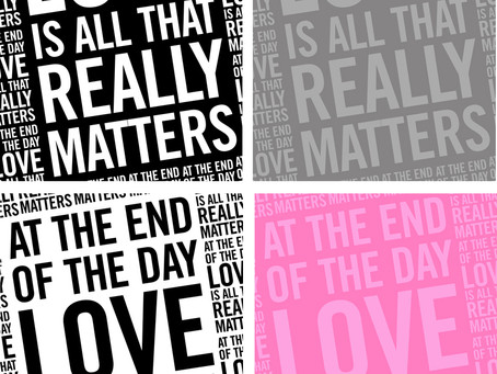 Typography + Timeless Messages