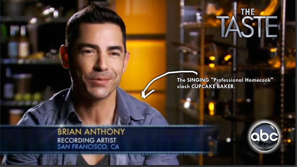Brian Anthony, The Taste, Season 1, January 2013, Reality Show, Cooking Competition, Nigella Lawson, Anthony Bourdain