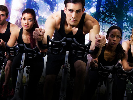 Getting the Creative Juices Flowing VERY EARLY! #spinning #waybackwednesday #fitness #goals