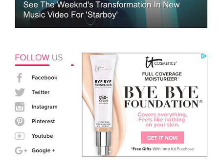 IT follows me everywhere... IT Cosmetics Retargeting Banner Ads Up and Running!