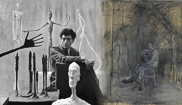 alberto-giacometti-sculptures-and-homme-