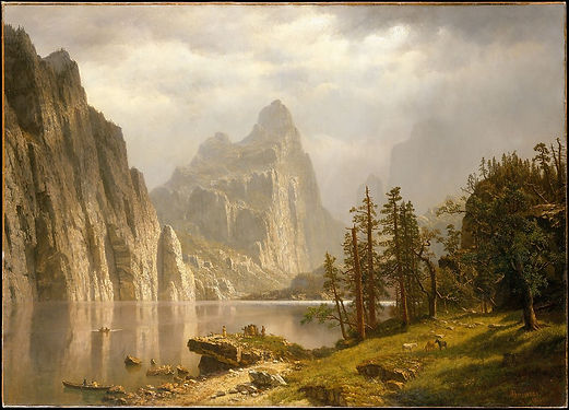 Bierstadt, Merced River Yosemite Valley,