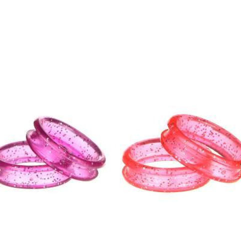 Sparkling Silicone Comfort Ring Inserts
