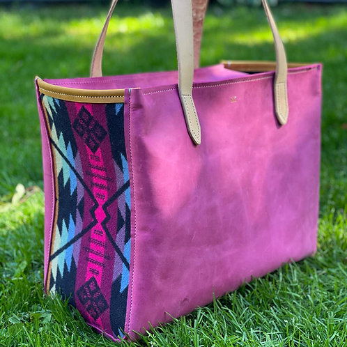 SK Jackson Tote Pink Butte