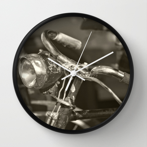 Old Bicycle - Wall Clock