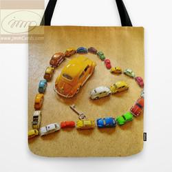 Love Bug Heart - Tote Bag