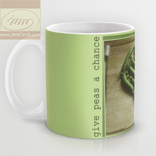 Give Peas a Chance - Mug