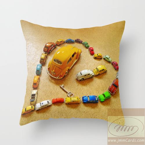 Love Bug Heart - Cushion/Pillow
