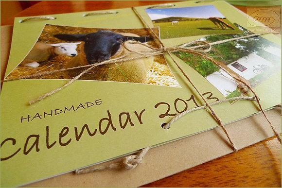 Somewhere in Ireland - Wall Calendar 2013