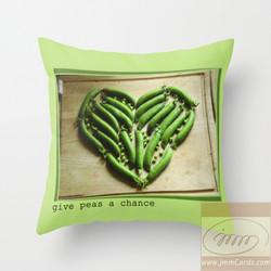Give Peas a Chance - Cushion/Pillow