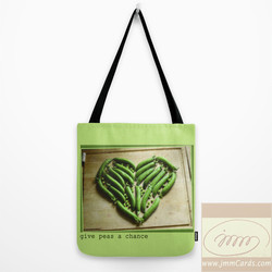 Give Peas a Chance - Tote Bag