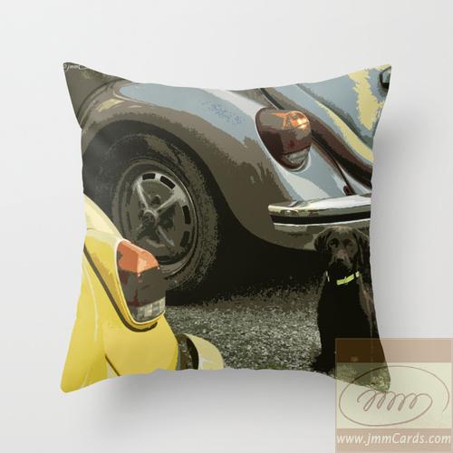 Air-Cooled Buddies Cushion/Pillow