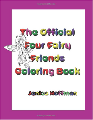 The Official Four Fairy Friends Coloring Book