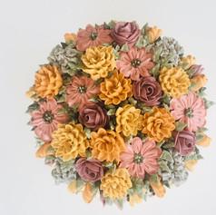 Vintage Harvest Palette - Mound of Flowers