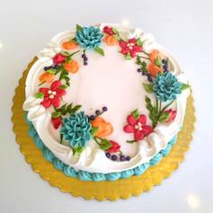 Fall into Folk Palette - Floral Ring Design