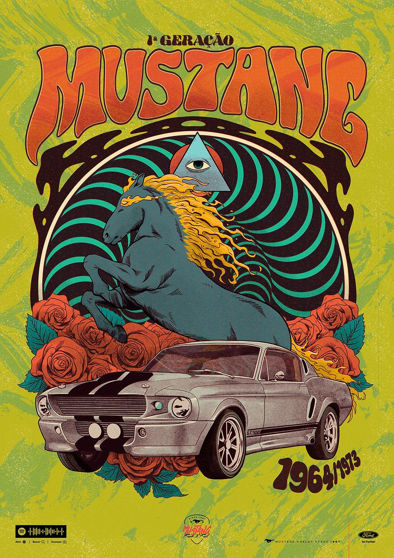 Mustang Rock'n'Roar - First Generation