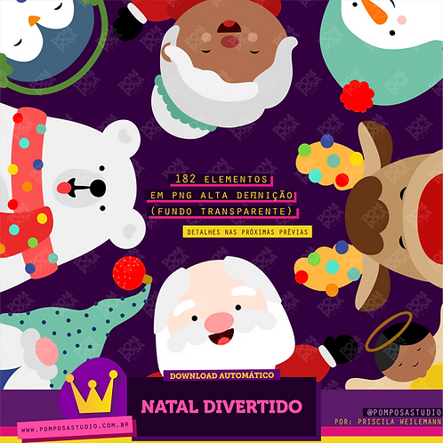 Kit digital • Natal divertido
