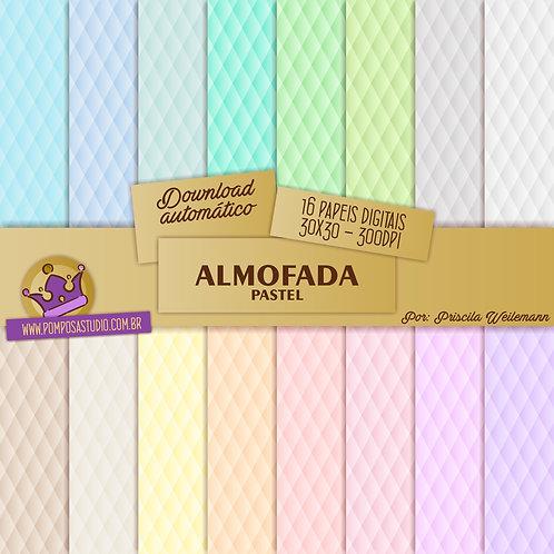 Kit papeis digitais - Almofada Pastel