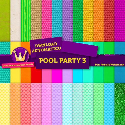 Kit papeis digitais - Pool Party 3