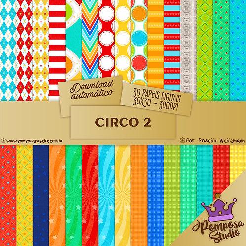 Kit papeis digitais - Circo 2