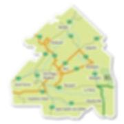 Carte du Haut-Saint-François