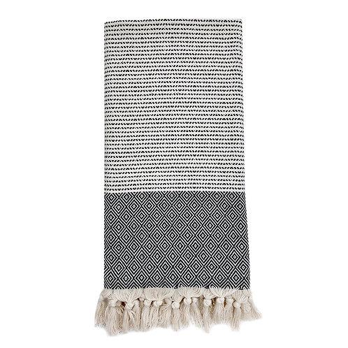 Diamond Stripe Turkish Towel