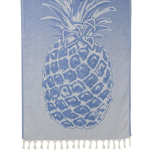 Ocean Pineapple Turkish Beach Towel
