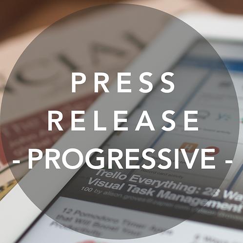 Press Release - Progressive