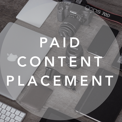 Paid Content Placement