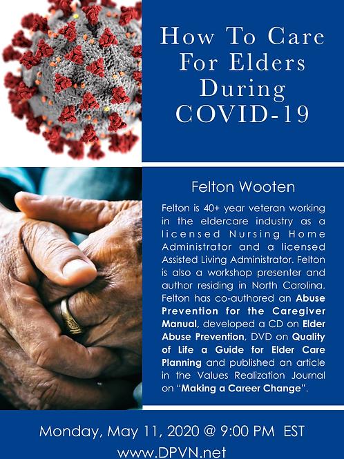 Elder Care During COVID-19