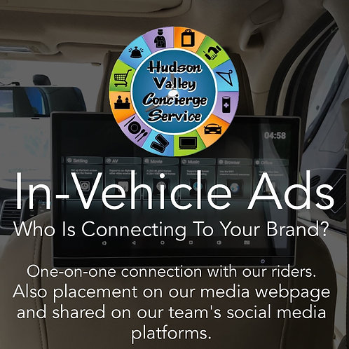 HVCS In Vehicle Ads + Audio Interviews