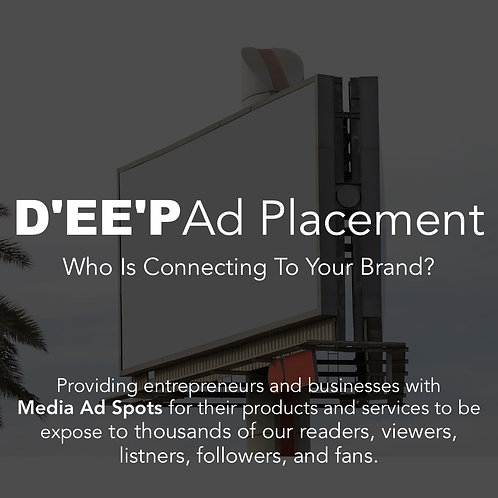 D'EE'P Video & Podcast Ad Placement