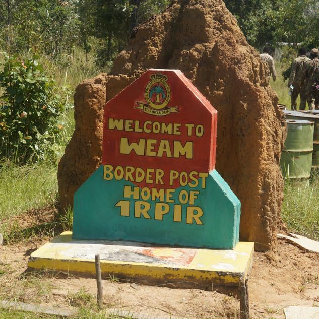 Weam Border Post