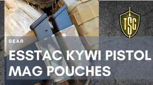 Photo of Esstack Kywi pistol magazine pouches