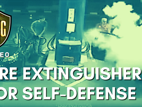 Watch: Defense with a Fire Extinguisher