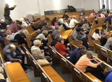Video: Good Guy with a Gun Stops Church Shooter