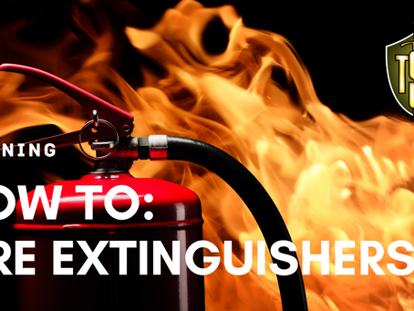 How to Pick and Use a Fire Extinguisher