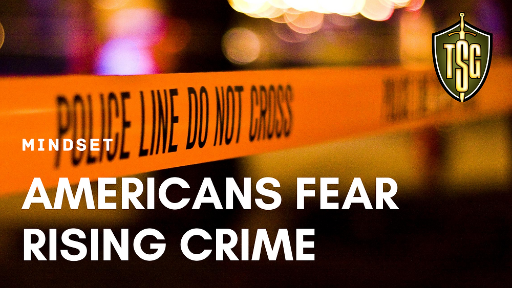 poll shows 77 percent of Americans fear rising violence in cities.